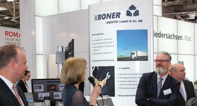 Tag der Region Hannover Messe 2017 - Landrat Kreis Nienburg